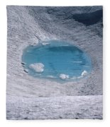 M-05416-lake In Summit Crater On South Sister Fleece Blanket