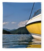 Lake Jocassee Fleece Blanket