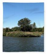 Lake Kirsty At Tifft Nature Preserve Buffalo New York Fleece Blanket
