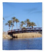 Lake Las Vegas Fleece Blanket