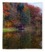 Lake Lodge Fleece Blanket