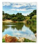 Lake Lucky Fleece Blanket