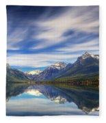 Lake Macdonald Fleece Blanket