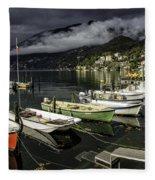 Lake Maggiore Ascona 1 Fleece Blanket