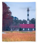Lake Mattamuskeet Pumping Station Fleece Blanket