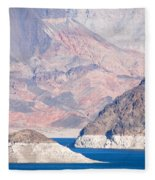 Lake Mead National Recreation Area Fleece Blanket