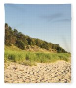 Lake Michigan Dunes 02 Fleece Blanket