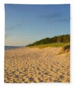 Lake Michigan Dunes 03 Fleece Blanket