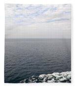 Lake Michigan Midpoint Fleece Blanket