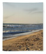 Lake Michigan Shoreline 02 Fleece Blanket