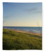 Lake Michigan Shoreline 05 Fleece Blanket