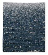 Lake Michigan Sparkling Water Fleece Blanket