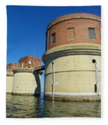 Lake Murray Sc Dam Fleece Blanket