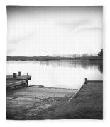 Lake Ngaroto Fleece Blanket