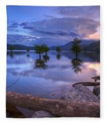 Lake Ocoee Fleece Blanket
