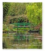 Lake Of Monet Fleece Blanket