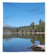 Lake Of The Woods 1 Fleece Blanket