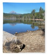 Lake Of The Woods 6 Fleece Blanket
