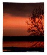 Lake Ontario Fleece Blanket