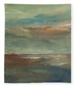 Lake Pontchartrain Sunset Fleece Blanket