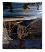 Lake Powell Utah Fleece Blanket