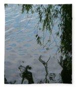 Lake Reflections Of Blue Fleece Blanket