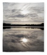 Lake Seminole Fleece Blanket