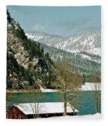 Lake Side Living Fleece Blanket