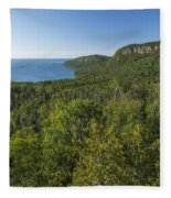 Lake Superior Grand Portage 2 Fleece Blanket