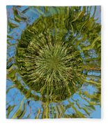 Lake Swirl Fleece Blanket