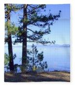 Lake Tahoe In The Morning Fleece Blanket