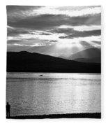 Lake Te Anau Fleece Blanket