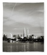 Lake Titiwangsa Fleece Blanket