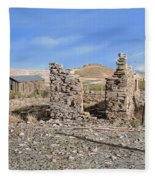 Lake Valley-new Mexico  Fleece Blanket
