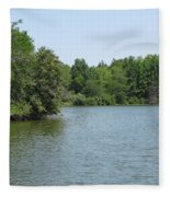 Lake View Fleece Blanket