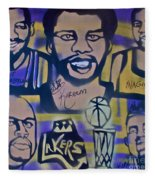 Laker Love Fleece Blanket