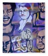 Lakers Love Jerry Buss 2 Fleece Blanket