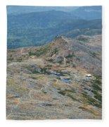 Lakes Of The Clouds - Mount Washington New Hampshire Usa Fleece Blanket