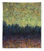 Lakeshore Sunset Fleece Blanket