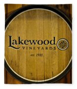 Lakewood Vineyards Fleece Blanket