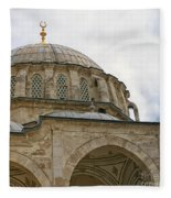 laleli Mosque 03 Fleece Blanket