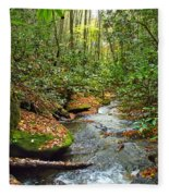 Lamance Creek  Fleece Blanket