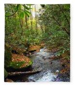Lamance Creek Vertical Fleece Blanket