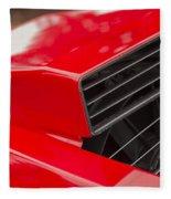 Lamborghini Countach Intake Fleece Blanket