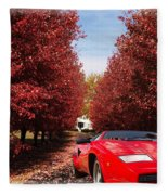 Lamborghini Maple Lane Big House Fleece Blanket