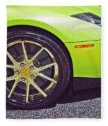 Lamborghini Verde  Fleece Blanket