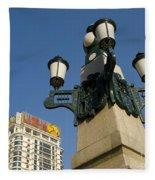 Lamp Post, China Fleece Blanket