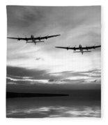 Lancasters Return Mono Version  Fleece Blanket