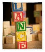 Lance - Alphabet Blocks Fleece Blanket