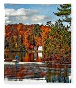 Land Of Lakes Fleece Blanket